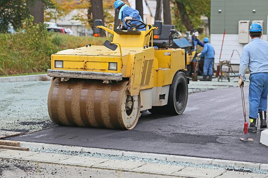 舗装工事のイメージ