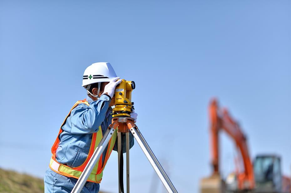 測量業務のイメージ